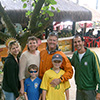 Madson, Debra Crain and her family (USA)